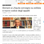 novelle legislative immobiliari illustrate dal notaio Massimo d'Ambrosio