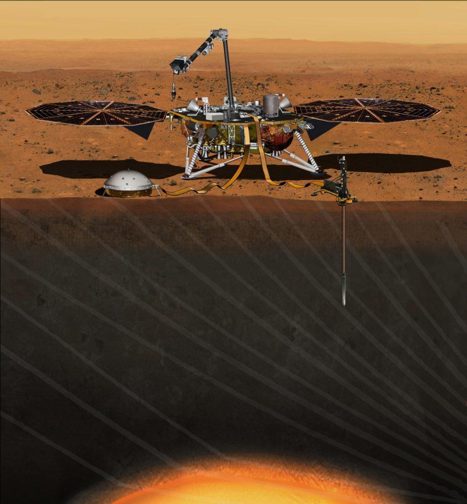 Visuale di Marte e notaio Massimo d'Ambrosio