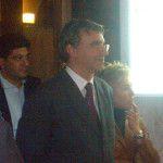 notaio Massimo d'Ambrosio ad una manifestazione pubblica