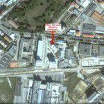 L'ufficio del notaio Massimo d'Ambrosio dal satellite