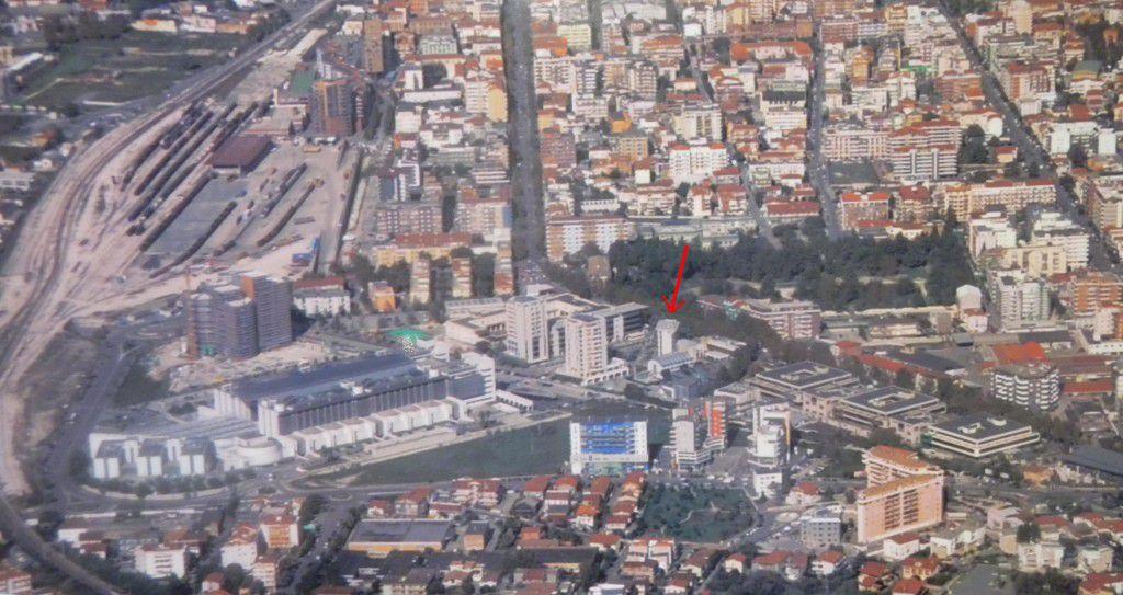 foto aerea dell'ufficio del notaio d'Ambrosio