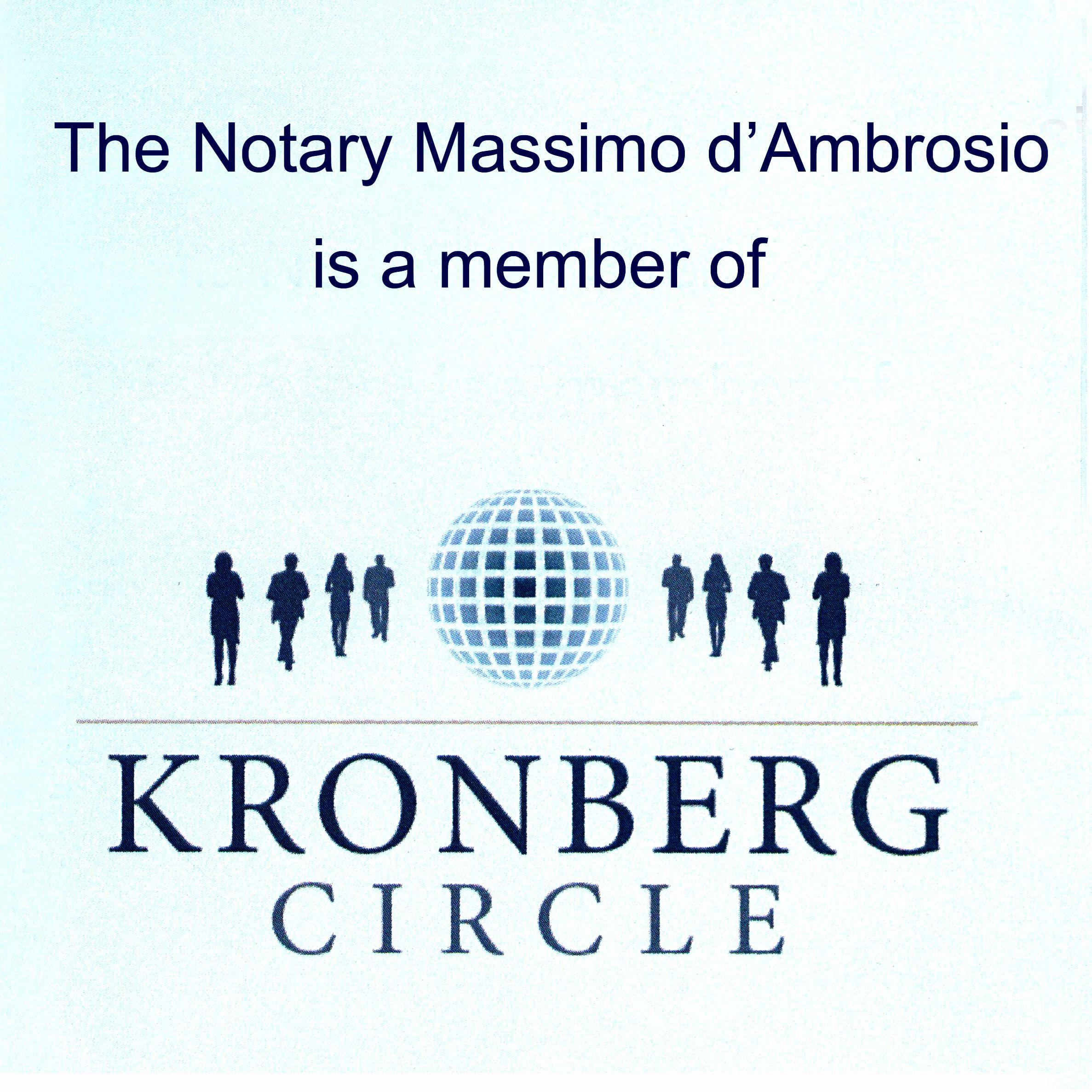 kronberg circle e notaio Massimo d'Ambrosio