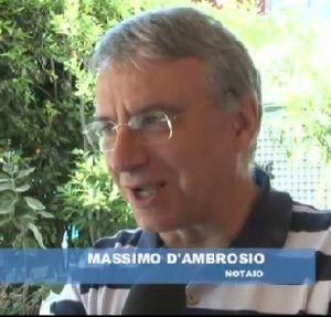notaio d'Ambrosio a TV6