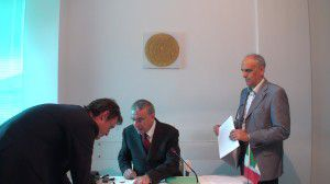stipula del notaio Massimo d'Ambrosio