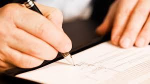 la firma del notaio