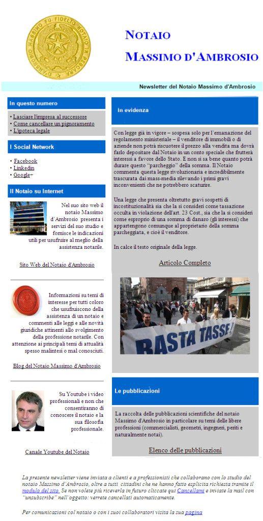 1 newsletter notarile