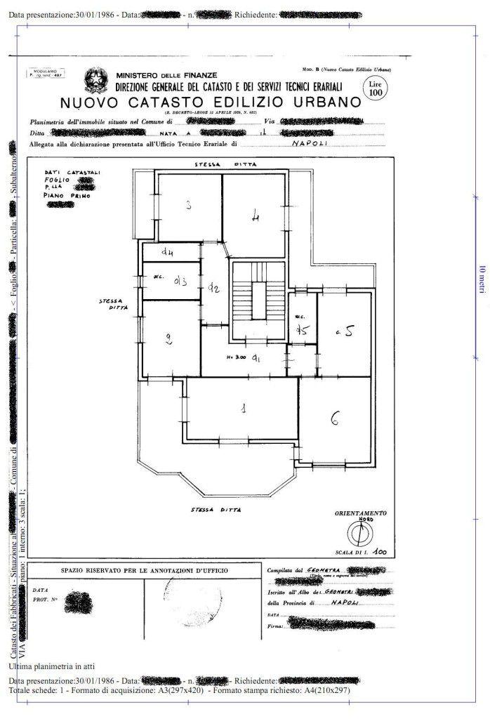 Perch la planimetria catastale va allegata al rogito for Planimetrie della casa con seminterrato di sciopero