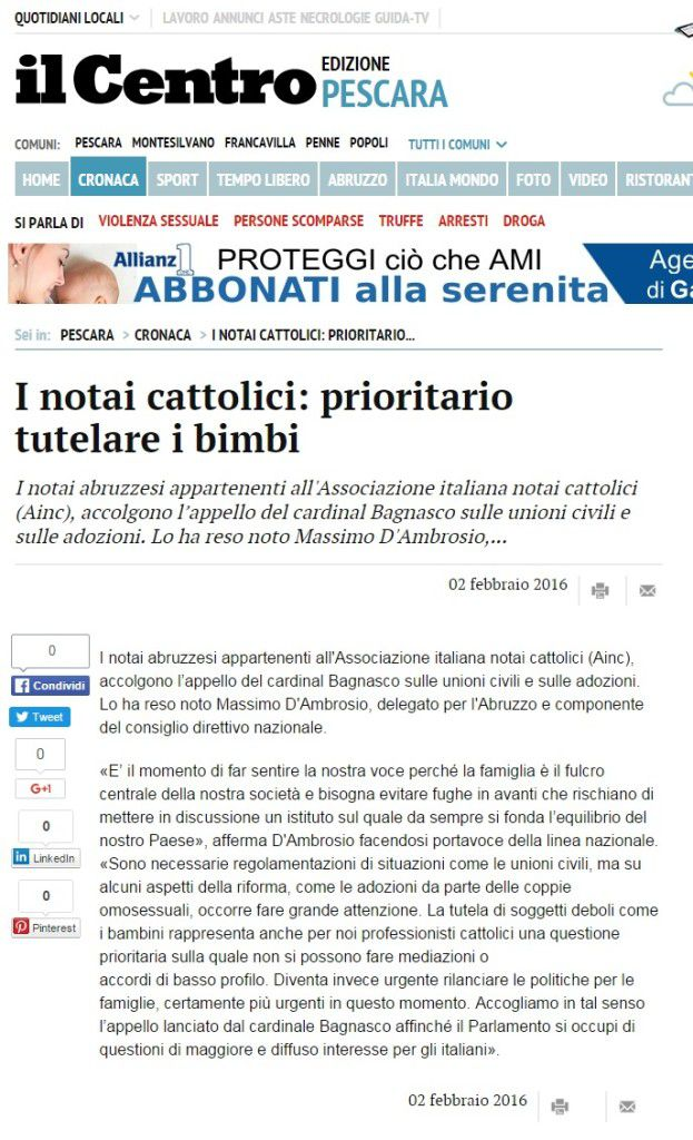 Il Centro online_Notaio D'Ambrosio