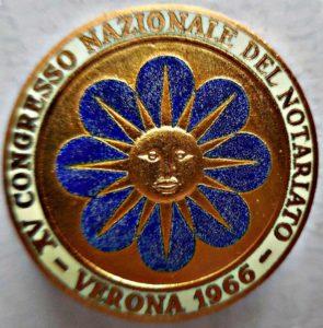 XV Congresso nazionale del notariato . Verona 1966